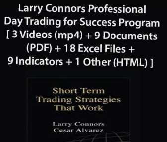 Larry Connors Professional Day Trading for Success Program